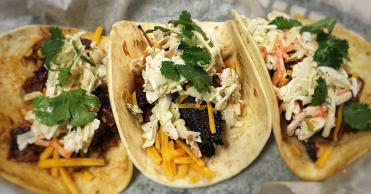 Brisket Burnt End Tacos