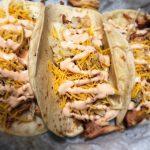 Buffalo Smoked Chicken Tacos