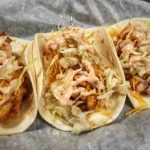 Buffalo Sneedwich Fish Tacos